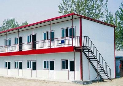 红顶双层活动房